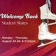 'WELCOME' Miami Student Skates