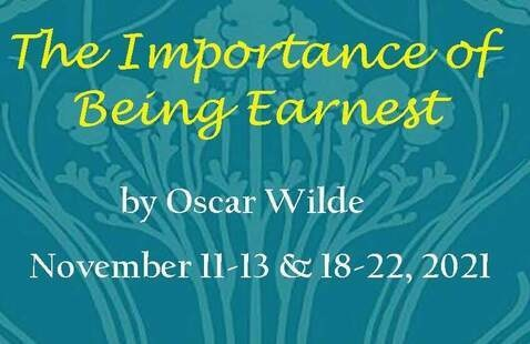 The Importance of Being Earnest announcement