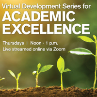 Virtual Development Series for Academic Excellence