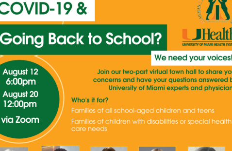 COVID-19 Back-to-School Family Town Hall