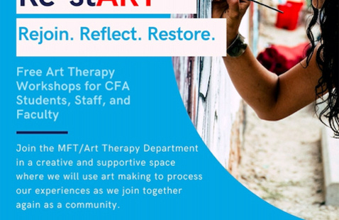 Re-stART.   Art Therapy Workshop for Returning CFA Students