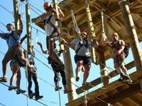 """Milstein Program Ropes Course/""""Teaming"""" Excercises"""