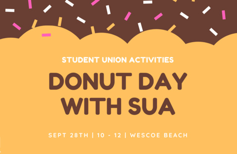 Donut Day with SUA