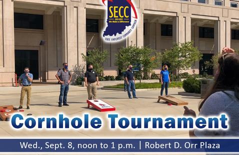 Cornhole Tournament banner