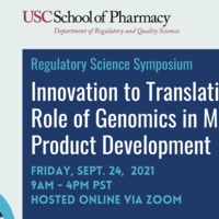 Innovation to Translation: Role of Genomics in Medical Product Development