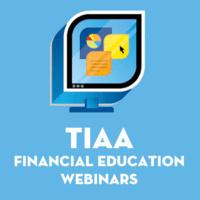 TIAA Webinar: Lifetime Income