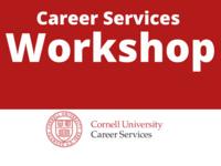 Career Services Workshop