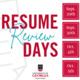 UGA Career Center Resume Review Days