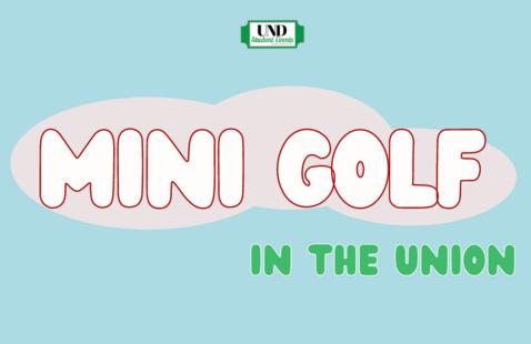 Mini Golf in the MU