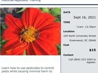 Bee Aware Pesticide Applicator Training