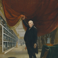 The Artist and His Museum, Charles Willson Peale, 1822