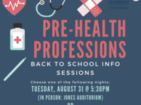 Pre-Health Professions Back to School Virtual Information Session