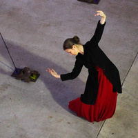 female dancer on stage