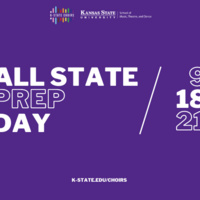 K-State Choirs' All State Prep Day for High School Singers