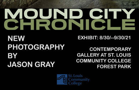 flyer promoting the Mound City Chronicle by Jason Gray
