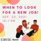 When to Look for a new job!