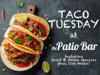 Taco Tuesday at The Patio Bar