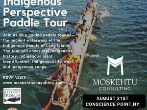 Long Island Indigenous Perspectives Canoe Tour