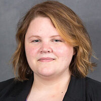 Dr. Sara Johnson, assistant professor of chemistry at the University of North Alabama
