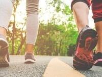 Wellness Walk around Campus