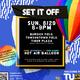 Set if Off- Hot Air Balloon & Yard Games