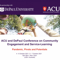 ACU and DePaul Conference on Community Engagement and Service-Learning: Pandemic, Pivots and Potentials