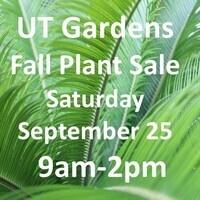 Fall Plant Sale - General Public