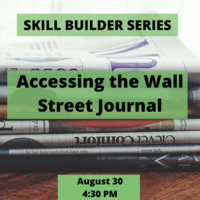 Skill Builder: Accessing the Wall Street Journal