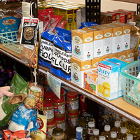 Food on shelf