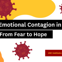 Emotional Contagion in Times of COVID: From Fear to Hope