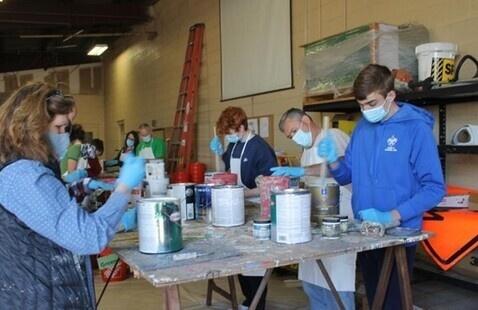 Volunteer with the Household Hazardous Waste Team