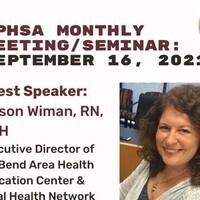 MPHSA September 2021 Monthly Meeting & Seminar