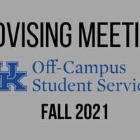 K. Beatty Fall 2021 OC Advising Meeting