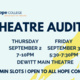 Fall Theatre Production Auditions