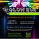 Glow Run 4 Recovery 5K Flyer