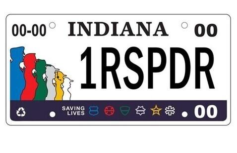 Homeland Security Foundation license plate
