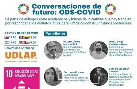 Conversaciones de Futuro: ODS- COVID. ODS 10 - Reducción de las Desigualdades