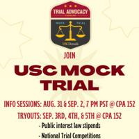 USC Mock Trial Tryouts