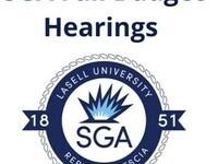 SGA Fall Budget Hearings