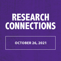 Research Connections to be held on October 26, 2021