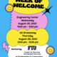 Week  of Welcome Events- Engineering Center