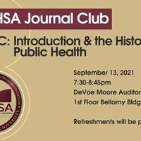 MPHSA Journal Club #1, Fall 2021