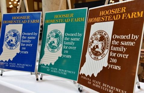 73 Indiana farms receive historic homestead award