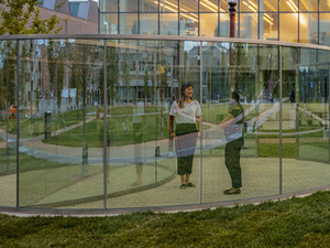 New Perspectives Talk: Isolation, Bisected: Dan Graham's Pavilion at Washington University