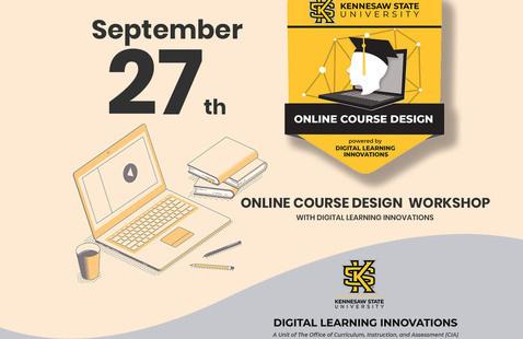 Online Course Design Workshop, Sep-27