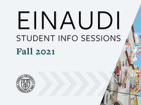 Info Session: Einaudi Dissertation Proposal Development Program