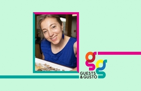 Drive conversations across poetry, film, tech, and more with Amy Wright on 'Guests and Gusto'