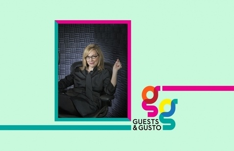 Find out why 'Design Matters' with podcast host, designer Debbie Millman on 'Guests and Gusto'