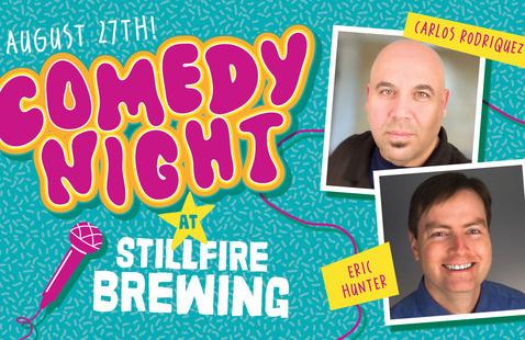 Comedy Night at StillFire Brewing