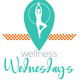 """Wellness Wednesdays"" calendar icon"